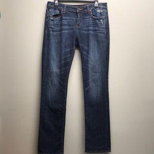 Buckle Black straight stretch jeans 29x32